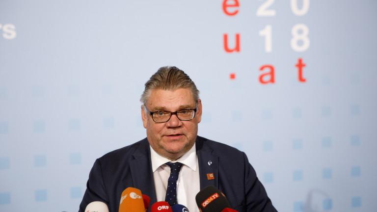 Министърът на външните работи на Финландия Тимо Сойни спечели вот