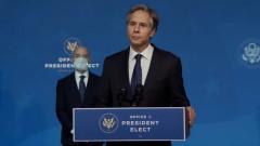 Помпео се среща с номинирания за държавен секретар Антъни Блинкен