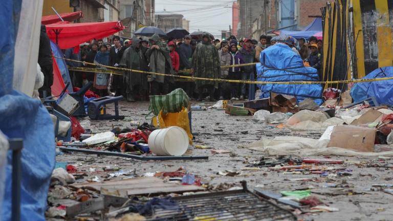 Експлозия уби и рани стотици в Боливия, предадоха световните информационни