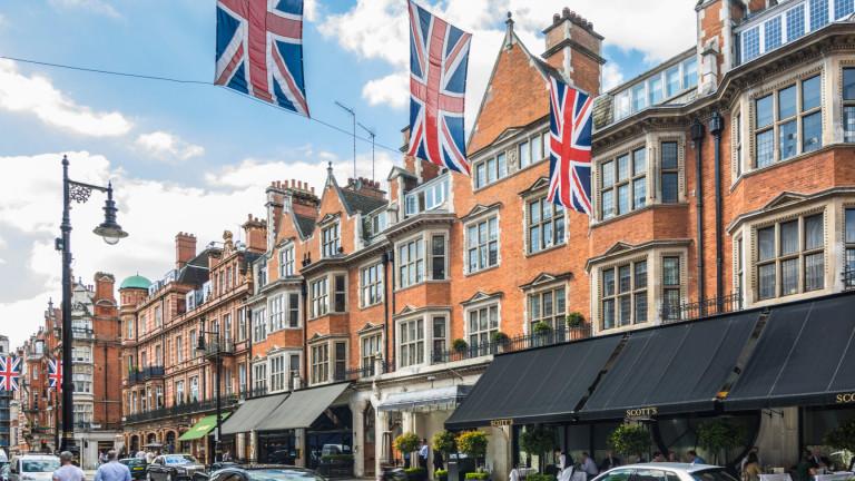 Продажбите на имоти в Лондон се сринаха до най-ниското си ниво от 2012 година насам