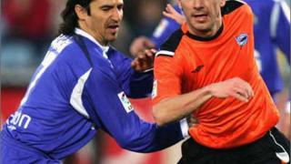 Георгиев игра при загубата на Алавес от Валенсия