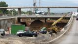 Тръгва мостът над Ломско шосе, скоро и целият участък 2 на Западната дъга