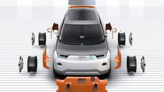"""Fiat готви """"сглобяем"""" EV вариант на Panda"""