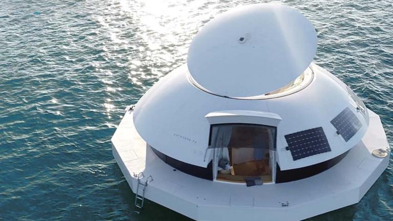 Плаващият дом, с който бихме отишли и на края на света
