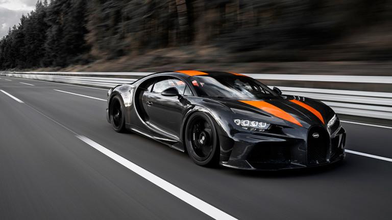 Специална модификация на Bugatti Chiron,