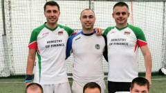 Футболният тим на Министерството на финансите победи Софтуер Груп с 6:2