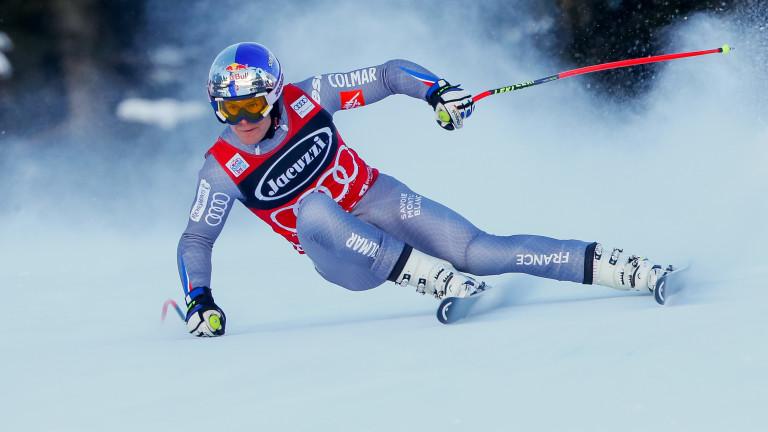 Французинът Алекси Пинторо направи отлично спускане в слалома валиден за