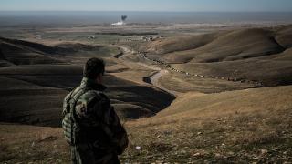 """Деветима убити иракски граничари при атака на """"Ислямска държава"""" близо до границата с Йордания"""