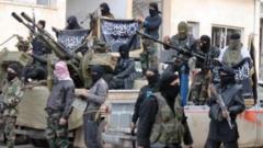 Джихадистите в Ракка принуждават цивилните да носят като техните дрехи