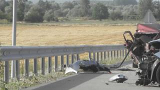 """Катастрофи ограничават движението по АМ """"Струма"""" и """"Тракия"""""""