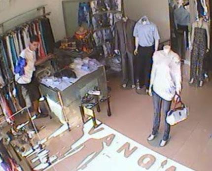 Столични полицаи издирват крадец на дамска чанта