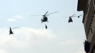Вертолети и самолети в небето над София на 5 и 6 май