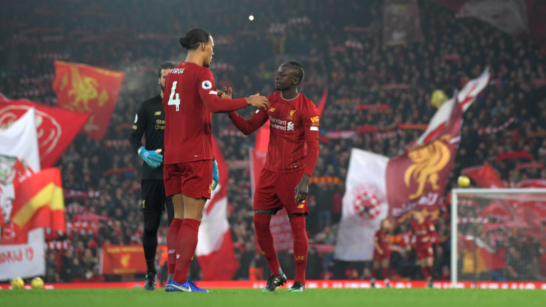 Ливърпул 1 : 0 Манчестър Юнайтед 14′ ГОООЛ ЗА ЛИВЪРПУЛ!!!