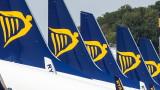 Ryanair пуска полети между София и Букурещ от август