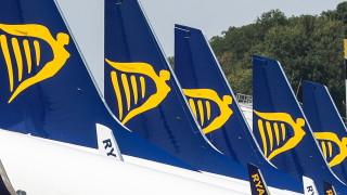25 000 пътници ще бъдат засегнати от стачка на пилотите на Ryanair в Европа