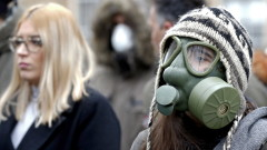 Протест срещу мръсния въздух в Сараево