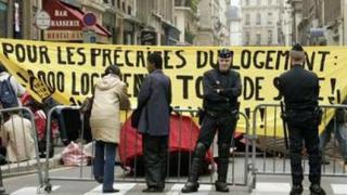 Стълкновения между емигранти и полиция във Франция