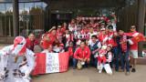 Привържениците на Перу пожелаха късмет на футболистите, изпратиха ги към стадиона подобаващо