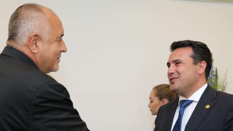 Борисов поздрави Заев за преизбирането му за премиер на Северна Македония