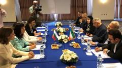 За енергийна свързаност с Иран разговаряха Караянчева и д-р Лариджани