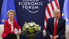 ЕС до няколко седмици може да сключи споразумение със САЩ, обяви Фон дер Лайен