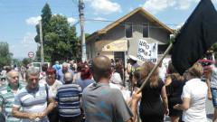 Протест срещу кмета на Септември блокира пътя Пазарджик-Велинград