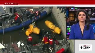 Хеликоптер падна в р. Хъдзън