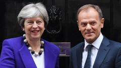 Туск: Брекзитът без сделка е по-възможен от когато и да било