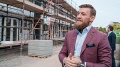 Конър Макгрегър строи къщи за бездомни свои сънародници