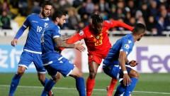 """2 от 2 за Белгия, """"червените дяволи"""" биха и Кипър"""
