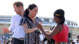 Как посрещнаха Хари и Меган в Африка