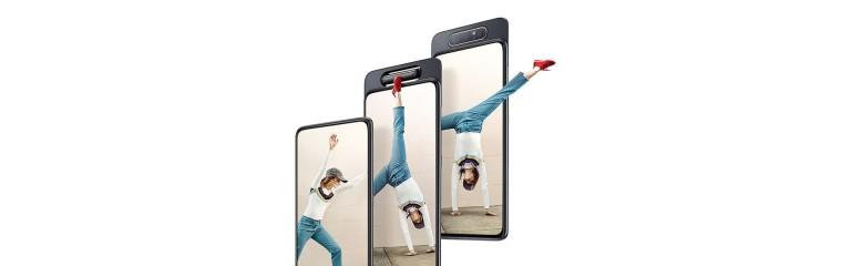 Въртящият се модул при Samsung Galaxy A80 лиши екрана от прорези и дупки