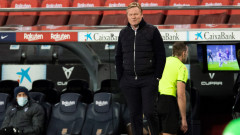 В Барселона отново се чудят дали Куман е точният треньор за тях