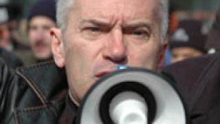 """Сидеров протестира на  """"Капитан Андреево"""" срещу """"изборния туризъм"""""""
