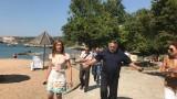 Откриха заграден плаж около Русалка с достъп само по вода