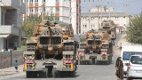 Турция изпрати още танкове и бронирана техника в Сирия