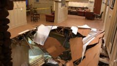 Етаж пропадна в  мазето на щатски университет