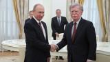Русия не се стреми към конфликт, увери Путин по време на среща с Болтън