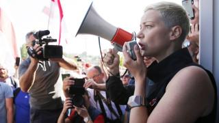 Колесникова и лидери на протестите в Беларус са в Украйна