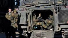 Натовски държави дислоцираха войници и бойна техника в Източна Европа