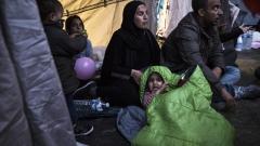Камион, пълен с мигранти, хванаха в столицата