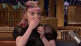Мейзи Уилямс, Game of Thrones, Джими Фелън и издаде ли актрисата какво ще се случи в сериала