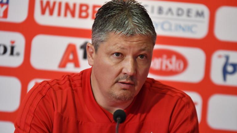 Треньорът на ЦСКА Любослав Пеневзаяви, че назначението на Николай Йорданов