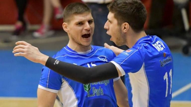 Волейболният Левски започна подготовката с амбицията да възвърне загубените си