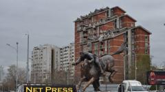 """Скопие изуми света – 20 """"статуи"""" за една нощ"""
