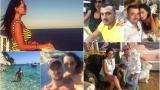 Джена на меден месец в Гърция