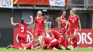 Футболистките на Дания детронираха на Германия