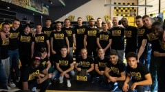 "Футболистите на Ботев (Пловдив) се включиха в кампанията ""100% Ботев Пловдив"""