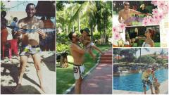 Илиян се забавлява в Бали  (СНИМКИ)