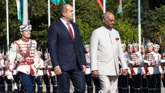 Президентът на Индия на първо посещение от 15 г. в България